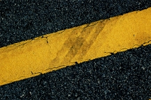yellow street line